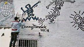 n-tv Inside Art: Danny Minnick: Vom Skateboardstunt zum Streetartstar