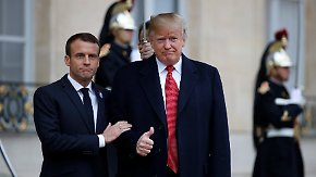 "Twitter-Tirade gegen Macron: Trump findet Europa-Armee ""sehr beleidigend"""