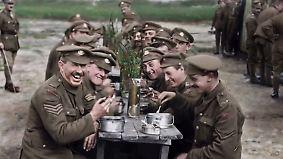 Filmaufnahmen aus dem Ersten Weltkrieg: Peter Jackson gibt Soldaten eine Stimme