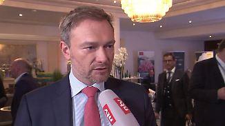 """Christian Lindner im Interview: """"Herr Seehofer ist im Innenministerium nie angekommen"""""""
