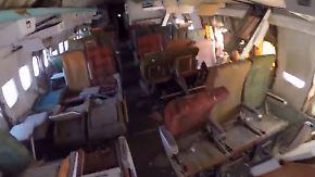 Wende nach acht Jahren Krise?: Flugzeuge verrotten auf Athens Airport