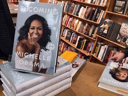 Auch Digitalgeschäfte wachsen: Michelle Obama treibt Bertelsmann-Umsatz