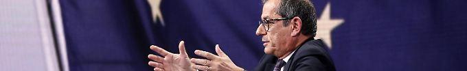 Der Börsen-Tag: 13:24 Tria keilt: Schrumpfendes deutsches BIP färbt auf Italien ab