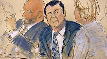 """Früherer Drogenboss vor Gericht: """"El Chapo"""" nahm die Dinge selbst in die Hand"""
