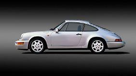 Der Porsche 911 Carrera 4 (Typ 964) machte die Kombination aus luftgekühltem Boxermotor und Allradantrieb zur neuen sportlichen Erfolgsformel.