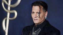 Auftritt auf dem roten Teppich: Hat sich Johnny Depp gefangen?