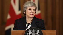 Premier verteidigt Brexit-Deal: Theresa May denkt nicht an Rücktritt