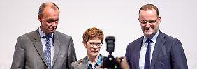Tauziehen um den Vorsitz: Kandidaten stellen sich erstmals CDU-Basis