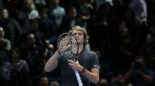 """""""Gerade ein bisschen verloren"""": Zverev schafft Tennis-Coup und erntet Pfiffe"""