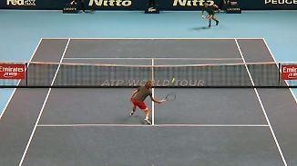 Erster Deutscher ATP-Champion seit 1995: Zverevs Vorhand bringt Djokovic aus der Balance
