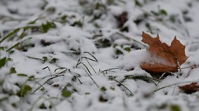 Minusgrade und Schnee: Petrus schickt ersten Wintergruß nach Deutschland