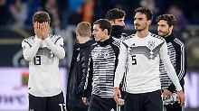Müllers 100er-Party fällt aus: Die DFB-Elf ohrfeigt sich selbst