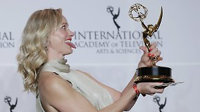Preis für Rolle der Gaby Köster: Anna Schudt gewinnt Emmy als beste Hauptdarstellerin