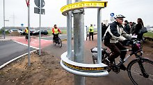Kampf gegen toten Winkel: Neues Warnsystem soll Radfahrer schützen