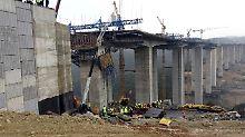 Unglück in der Türkei: Betonblock begräbt Bauarbeiter unter sich