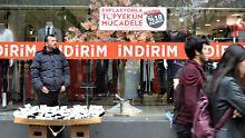 Mit Rabatten gegen Inflation: Die Türkei schiebt die Wirtschaftskrise auf
