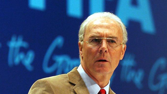 Frische Idee fürs Emirat: Franz Beckenbauer.