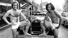 Schön war die Zeit: Uli Hoeneß und Paul Breitner im Sommer 1973.