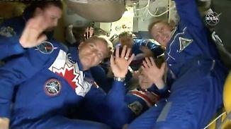 Zwei Monate nach Sojus-Fehlstart: Ablösung für Alexander Gerst erreicht ISS