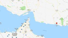 Tschabahar liegt unweit der Grenze zu Pakistan.