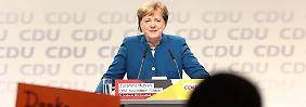 """""""Gut gerüstet und motiviert"""": Merkel eröffnet Parteitag unter großem Applaus"""