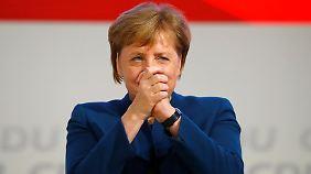 """Merkels letzte Worte als Parteichefin: """"Es war mir eine große Freude, es war mir eine Ehre"""""""