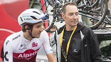 Erik Zabel ist jetzt wieder mehr als der Vater von Rick: Er arbeitet beim Team Katusha-Alpecin.
