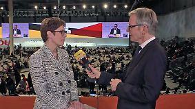 """Kramp-Karrenbauer im n-tv Interview: """"Wir werden Prozesse umdrehen"""""""