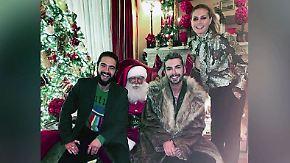 Promi-News des Tages: Heidi Klum lässt auf Weihnachtsfoto tief blicken