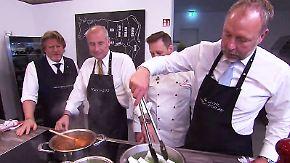 ntv Ratgeber: Die Männerkochschule: Sterneküche für zu Hause