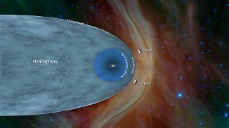 """Nach 41 Jahren: Nasa-Sonde """"Voyager 2"""" erreicht interstellaren Raum"""