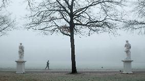 Regen, Schnee und ein wenig Sonne: Russische Kaltluft überzieht Deutschland mit Frost