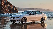 Der neue 3er BMW macht nicht nur im Sonnenuntergang eine gute Figur.