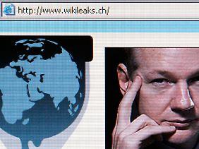 Screenshot der Wikileaks-Seite.