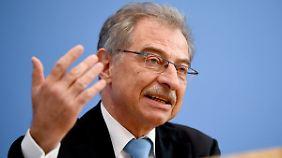 BDI-Präsident Dieter Kempf forderte eine härtere Gangart gegenüber China.