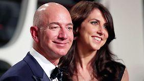 Wer bekommt die Amazon-Milliarden?: Die Bezos lassen sich scheiden, Jeff hat wohl eine Neue