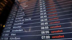 Schwere Zeiten für Flugreisende: Warnstreiks an acht deutschen Airports starten
