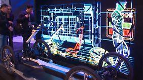 Mobile Zukunft in Las Vegas: Autohersteller erobern die Consumer Electronics Show