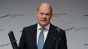 """Unsicherheit am Finanzplatz Deutschland: Scholz warnt Firmen und Banken vor """"hartem"""" Brexit"""