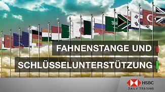Palladium und Bayer im Chart-Check: Fahnenstange und Schlüsselunterstützung