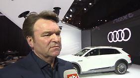 """Audi-Chef Schot im n-tv Interview: """"Langfristig wird Wachstum kommen"""""""