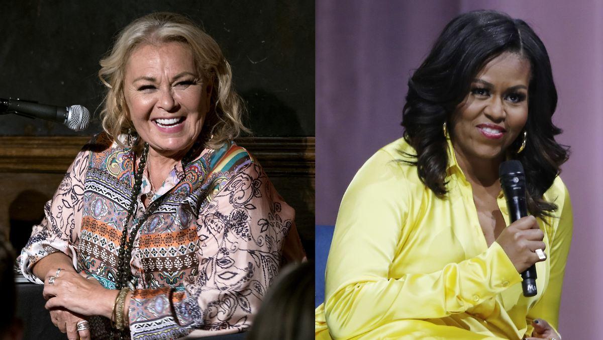 Roseanne Barr ätzt gegen Michelle Obama