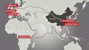 Brexit - Chance für Peking?: China investiert massiv in neue Seidenstraße nach Europa