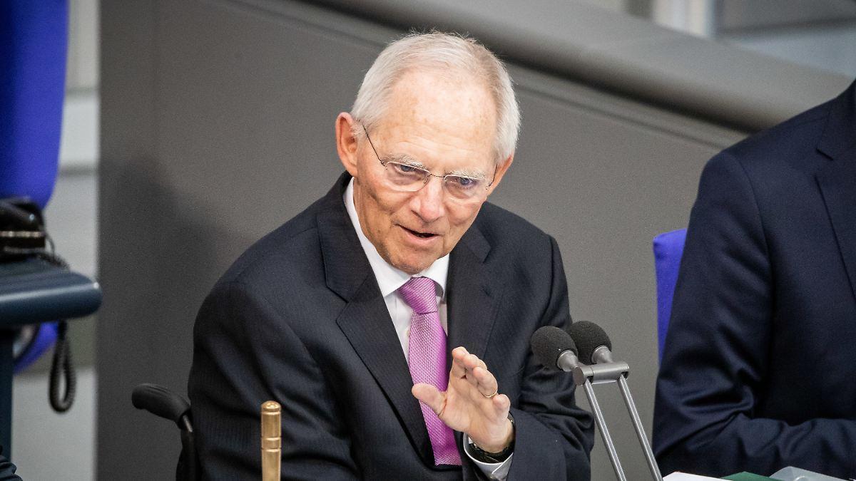 Schäuble: AfD hat keinen Anspruch