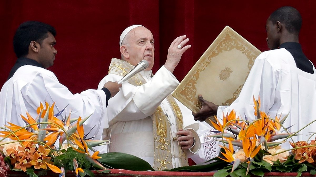 Papst gedenkt in Rom der Opfer der Anschläge