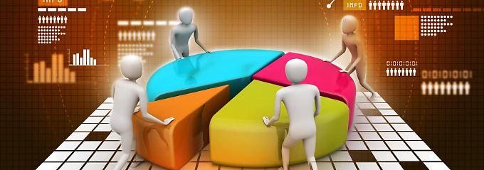 Egal wie und von wem, das Vermögen sollte auf verschiedene Anlageklassen aufgeteilt werden.