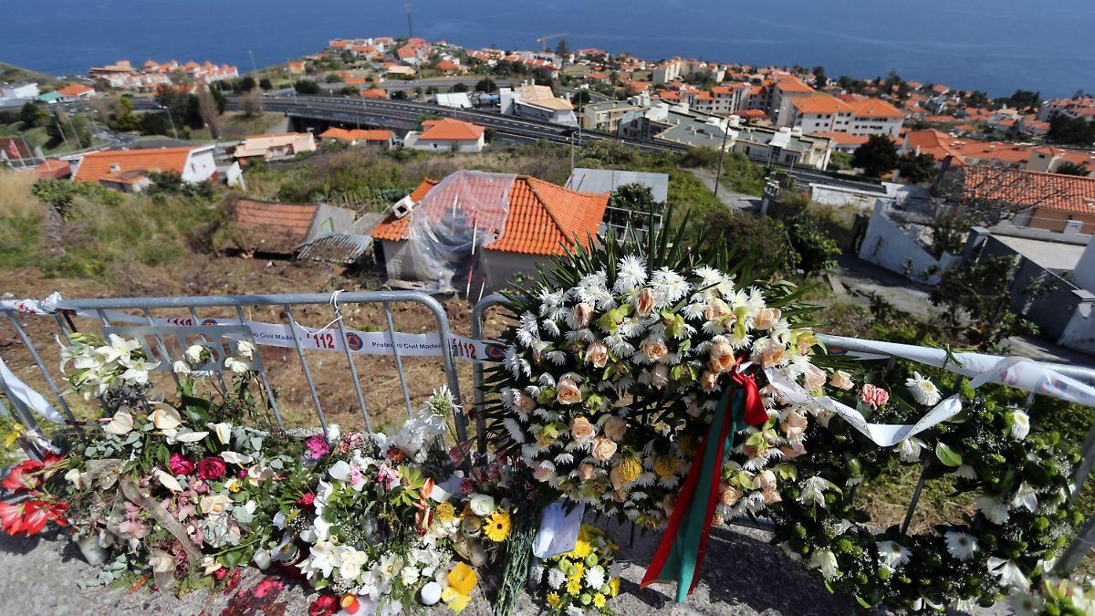 Überlebende des Madeira-Busunfalls tagelang verwechselt