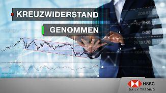 Euro Stoxx 50 und EUR/USD im Chart-Check: Kreuzwiderstand genommen