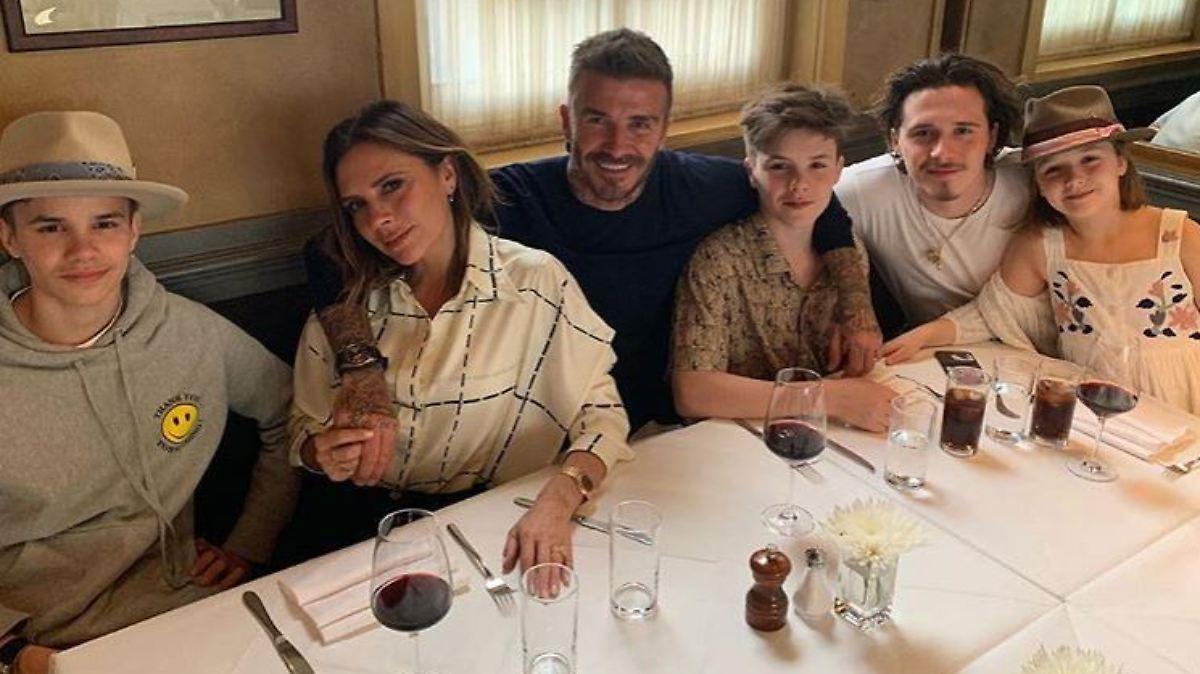 Die Beckhams feiern Geburtstag