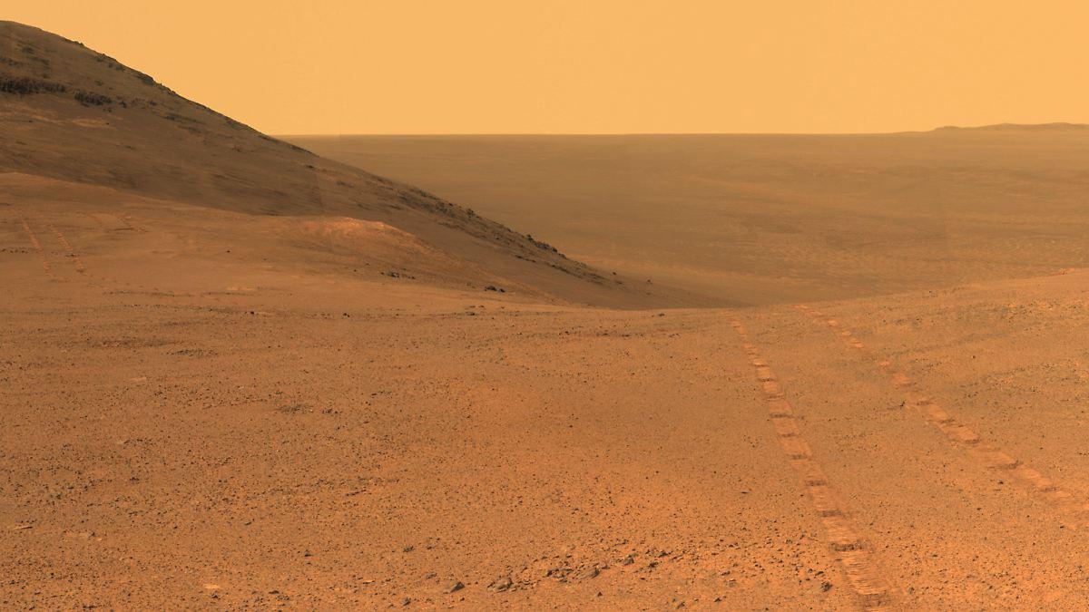 Wo ist das Wasser auf dem Mars geblieben?